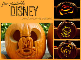 Free Printable Pumpkin Carving Patterns Fascinating Disney Pumpkin Carving Patterns Frugal Fanatic