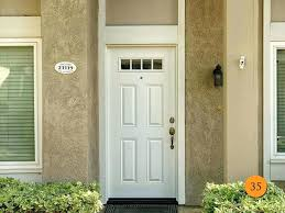 prehung front door craftsman 6 lite primed steel front door classic fiberglass exterior door installed prehung prehung front door