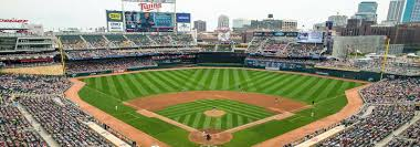 Target Field Baseball Seating Chart Minnesota Twins Tickets Stubhub