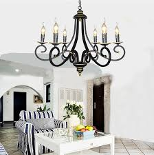 black chandelier lighting photo 5. European Black Wrought Iron Candle Chandelier Lighting 3/5/6/8 Heads E14 Hote/dining Room Foyer Contemporary Chandelier-in Chandeliers From Lights Photo 5