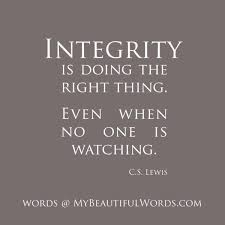 Integrity Quotes Impressive 48 Best Quotes About Integrity Integrity Quotes QuotesOnImages