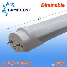 Dimmable Led Tube Light T8 T8 Led Tube Light Fixture Dimmable 48 1 2m 4ft 20w G13 Bar Lamp Bulb 2 100 Bulbs Carton Led Bulbs Price T8 Led Bulbs From Lampbay 37 91 Dhgate Com