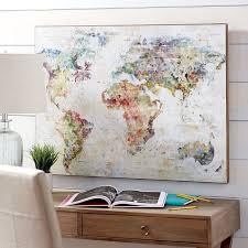 40 beautiful ideas world map wall decor panfan site classy world map wall decor with pier