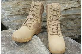 winter autumn women quality brand men military leather boots special force tactical desert combat boats outdoor