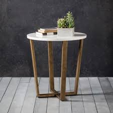 uk hudson living cleo round side table