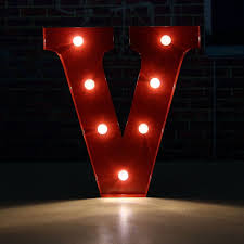 Universal 12inch Alphabet Led Letters Light Standing Hanging Up