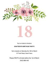 Birthday Invitation Templates Free Download Kenicandlecomfortzone