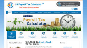 Visit Paymycheck Info Payroll Tax Calculator Paycheck Calculate