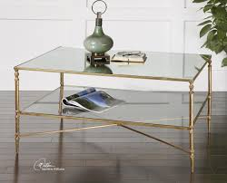coffee table minimalist design gold and glass coffee table gold and glass coffee table handmade glass
