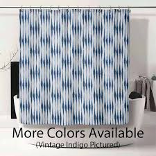 abstract stripe premier prints salix collection shower curtain