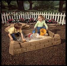 Sandkasten NP Sandbox   mit Boden und Deckel