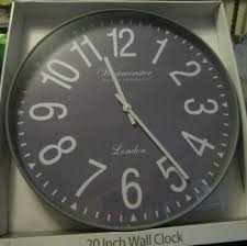 new westminster clock company large 20