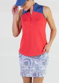 Jofit Ladies Plus Size Golf Outfits Sleeveless Shirt