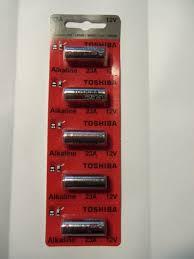 genie acsctg type 1 garage door opener remote control new a23 12 volts battery