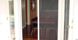 self closing sliding patio screen door designs