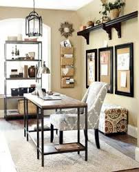 neutral home office ideas. Home Office With Gray And Neutral Accents Ideas