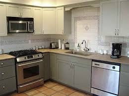 ideas excellent decoration grey cabinets kitchen painted light amusing home