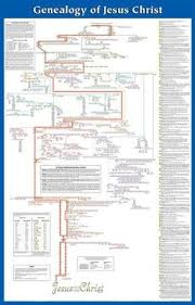 Genealogy Of Jesus Laminated Wall Chart