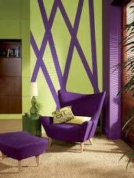 lime green & aubergine interiors - Google Search