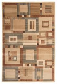 rectangle abacasa sonoma austin area rug beige tan aqua rust 63