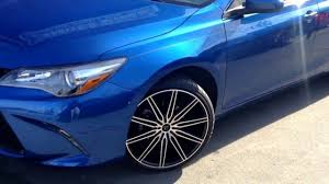2017 Toyota Camry siiting on 20