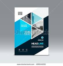 cover design corporate brochure template magazine and flyer layout annual report geometric