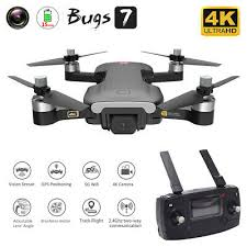 MJX Bugs 7 <b>B7</b> RC <b>GPS</b> Drone with Camera 4K 5G Wifi Brushless ...