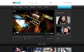 Video Website Template Beauteous Video Lab Responsive Website Template 28