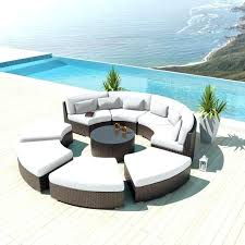 round outdoor sectional curved outdoor sofa medium size of white curved outdoor sofa small sofas modern