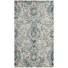 madison cream light gray 3 ft x 5 ft area rug