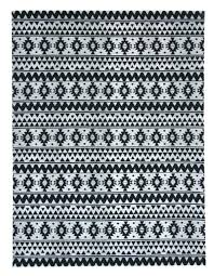 outdoor rug hand woven indoor stripes lozenges black mandala and white aztec print mesmerizing black and white area rug rugs aztec