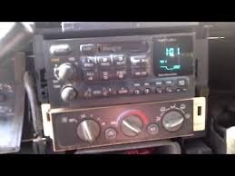 radio replacement on 1996 98 chevrolet gmc radio replacement on 1996 98 chevrolet gmc
