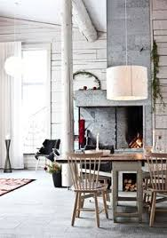 timber house in sweden design interior house sweden fireplace concrete