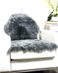 gray sheepskin rug rugs photo 5 of superb grey ft furniture s gray sheepskin rug