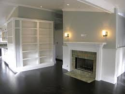 bedroom vaulted ceiling decor dark grey wallpaint pure white furry rug smooth light blanket floor