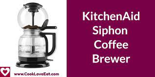 Automatic siphon brewer is safe, easy to use and requires no open flame. Kitchenaid Siphon Coffee Brewer 2020 Is It The Best Siphon Coffee