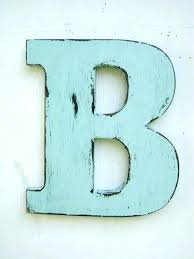 large decorative wooden letters wood decoration ideas wall decor initial letter b for home unique hanging