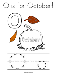 Small Picture October Coloring Pages Twisty Noodle