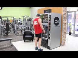 Vending Machines For Gyms Gorgeous Meccamino Supplement Vending Machine YouTube