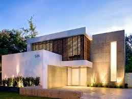Modern Minimalist House Facade Paint Color