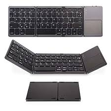 Jelly Comb Tri-<b>fold Wireless</b> Ultra-Slim <b>Portable Bluetooth Keyboard</b>