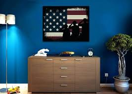 fascinating american flag painting 4 piece modern wall oil painting