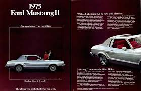 regress press llc automobile catalogs between1970and1979 mustang ii 1975 ford hardtop ghia 2 2 mach i our small sporty personal car