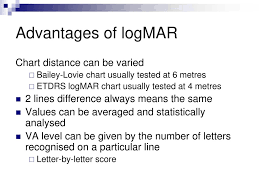 Logmar Chart Distance Visual Acuity Anne Bjerre October Ppt Download