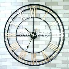large roman numeral wall clock large roman numeral wall clock roman numeral wall clock golden extra