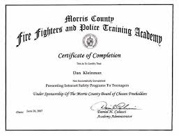 Certificate Of Training Completion Template Training Certificate Sample View Sample Certificate Of