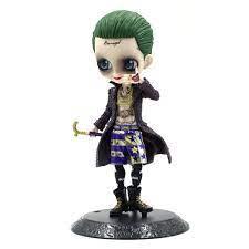 Nhân vật hoạt hình joker của suicide squad sưu tập mô hình nhỏ trang trí  bức tượng - Sắp xếp theo liên quan sản phẩm