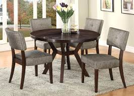 casual dining tables sets casual espresso round dining table set