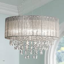 small crystal pendant lights awesome possini euro metairie 20 w silver fabric crystal chandelier