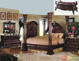 Queen Bedroom Furniture Set Traditional Four Poster Bedroom Sets Caledonian Traditional